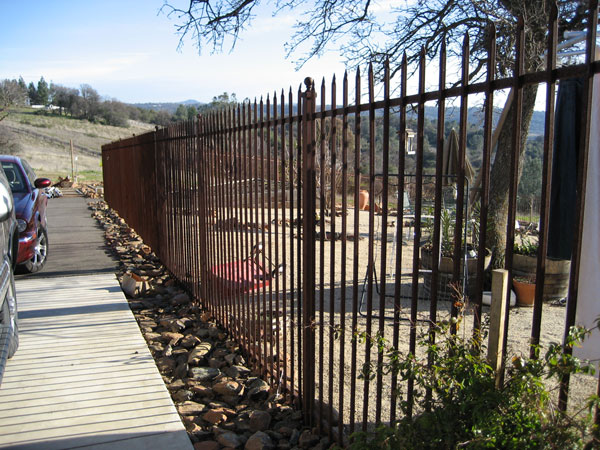 Residential Wrought Iron Fence San Diego
