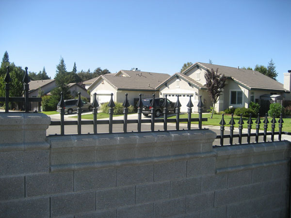 Wrought Iron Security Fence San Diego