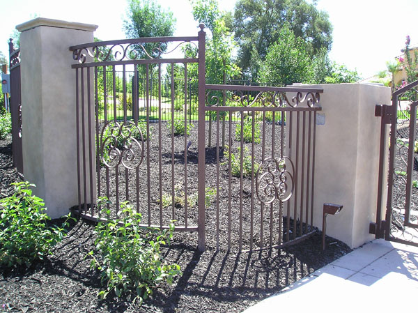 Ornamental Wrought Iron Fence